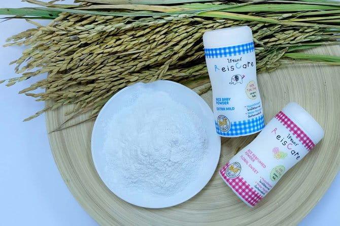 ใหม่แป้งเด็กไรซ์แคร์reiscare-baby-powderมหัศจรรย์พลังจากแป้งข้าว